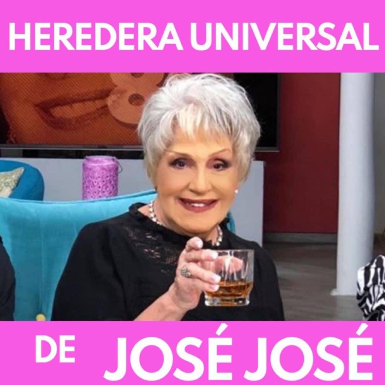 Anel Norena heredera universal Jose Jose