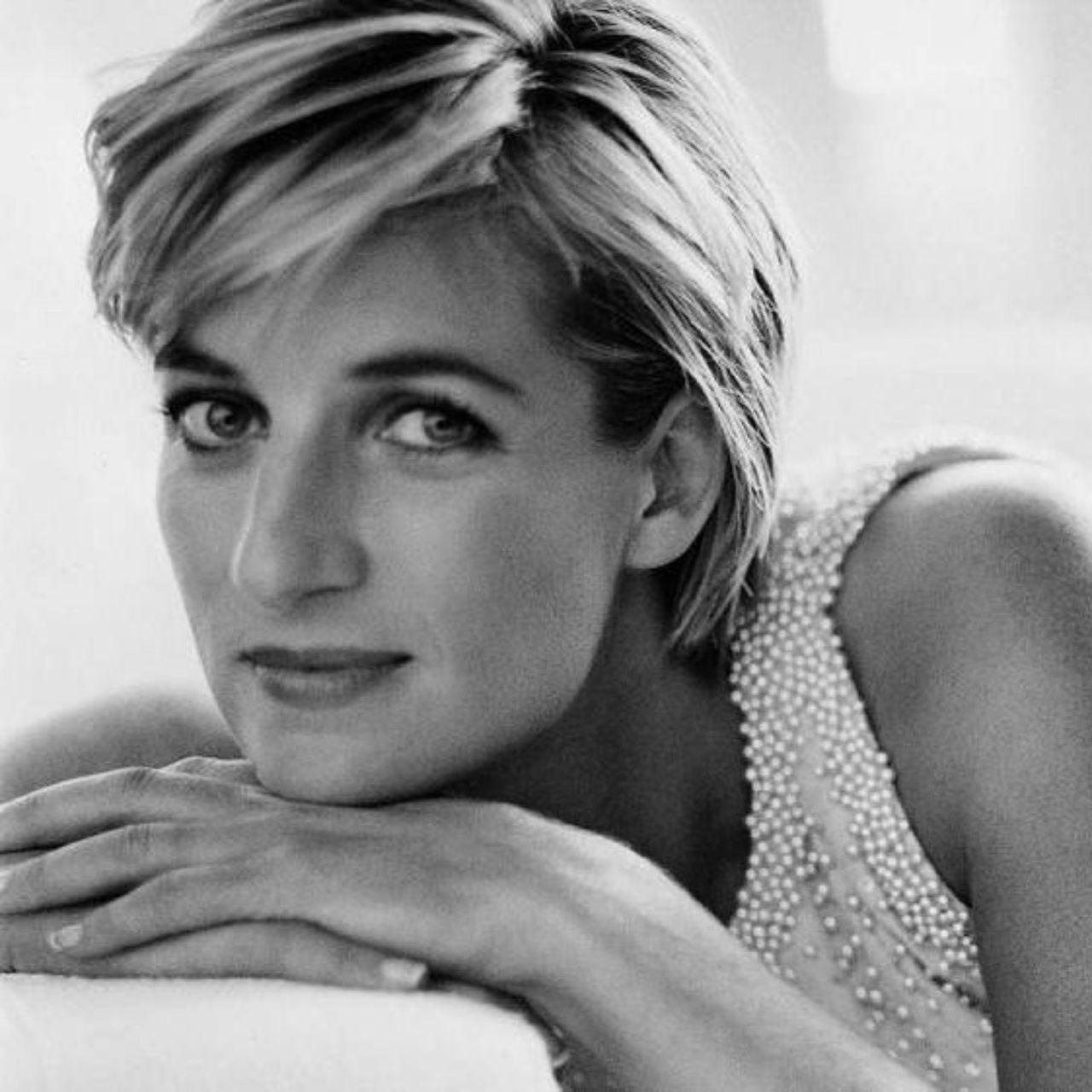 Belleza de princesa Diana rostro