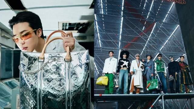 BTS triunfa en desfile de Louis Vuitton