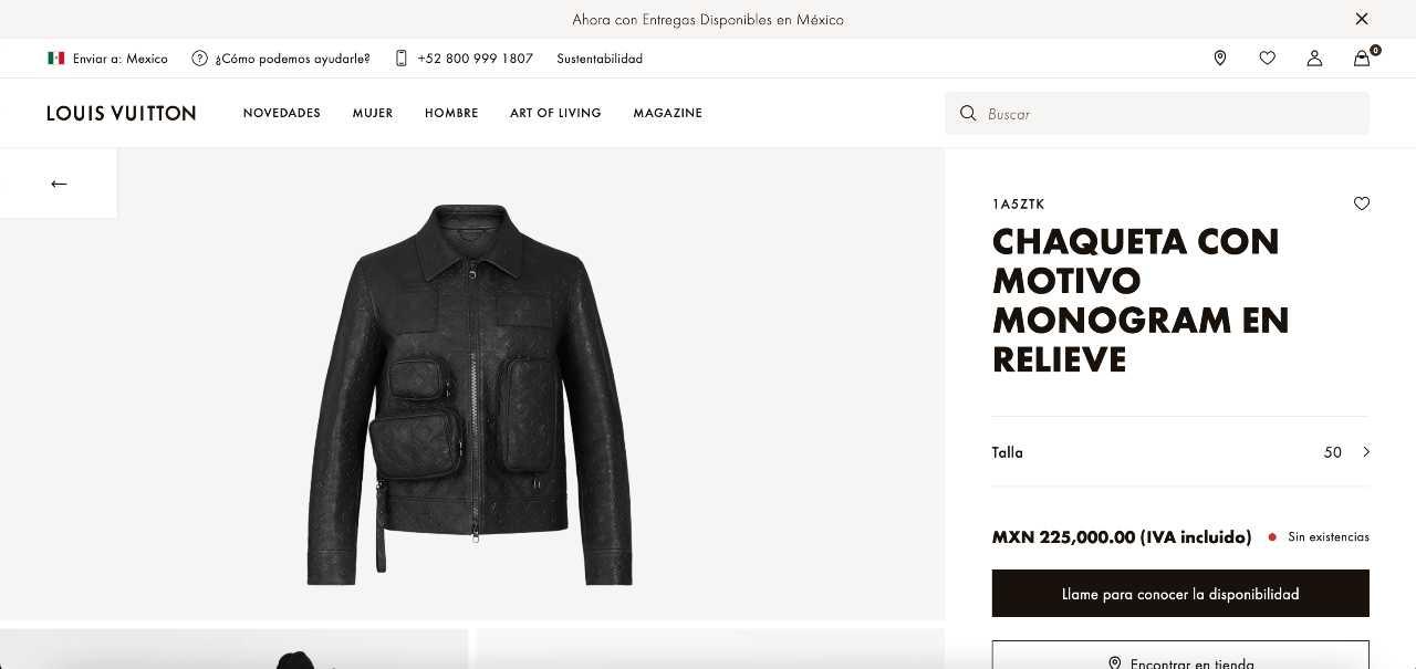 Christian Nodal usa chamarra Louis Vuitton de 225 mil pesos