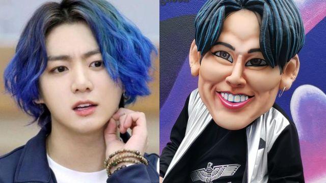 Crean botarga de Jungkook de BTS para fiestas y ARMY está confundido
