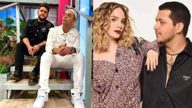 """Belinda y Christian Nodal: """"El Capi"""" Pérez se burla de ellos con doble de la cantante"""