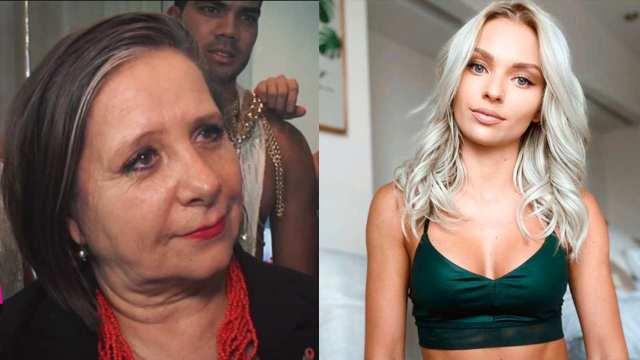 Mamá de Geraldine Bazán arremete contra Irina Baeva y asegura que es famosa por sus maldades
