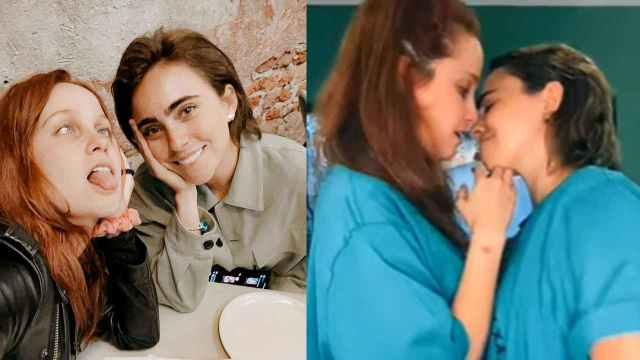 Natasha Dupeyrón se da apasionado beso con Karla Farfán en TikTok