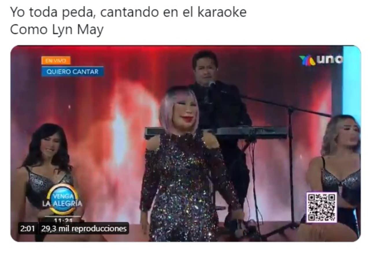 lyn may cantando vla meme