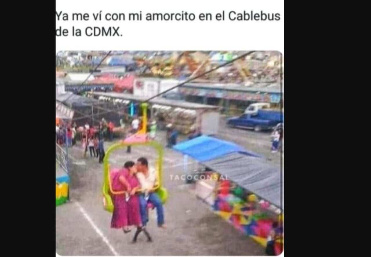 Memes de cablebus de la CDMX