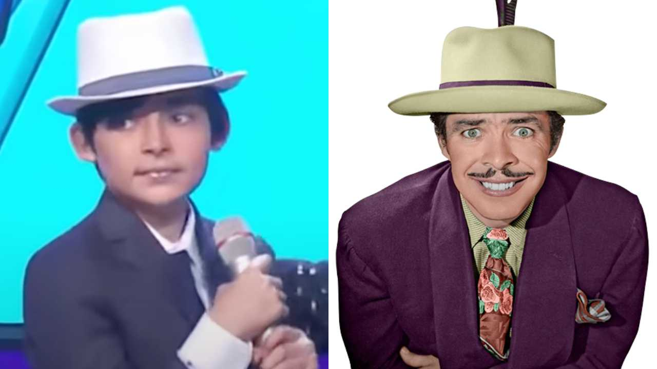 Nieto de Tin Tan aparece enHoy y sorprende por ser idéntico al comediante