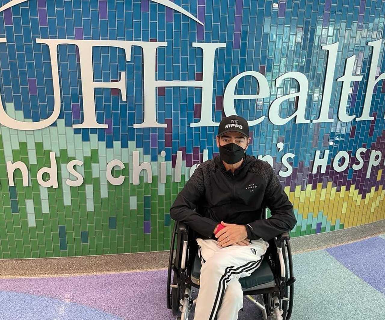 Toño Mauri regresa al hospital