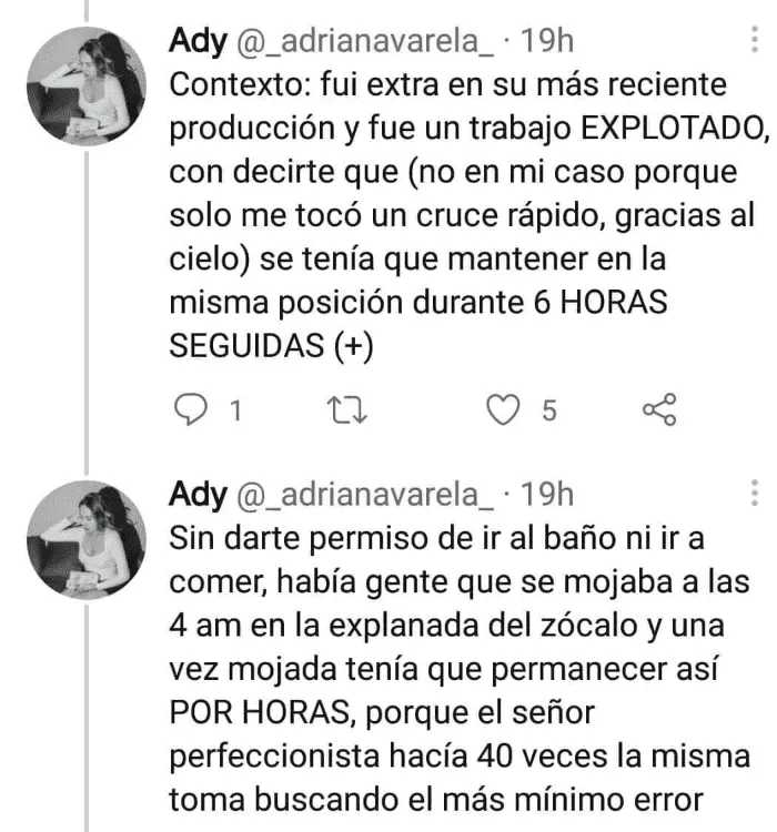Denuncian maltrato de Alejandro González Iñarritu