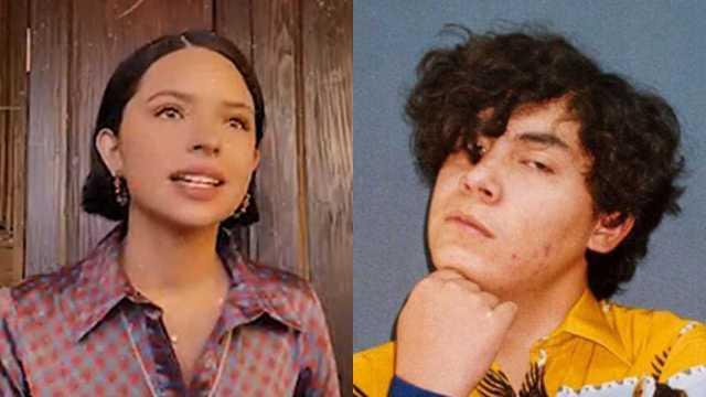 "Ángela Aguilar sorprende al cantar cover de ""Fuentes de Ortiz"" de Ed Maverick"
