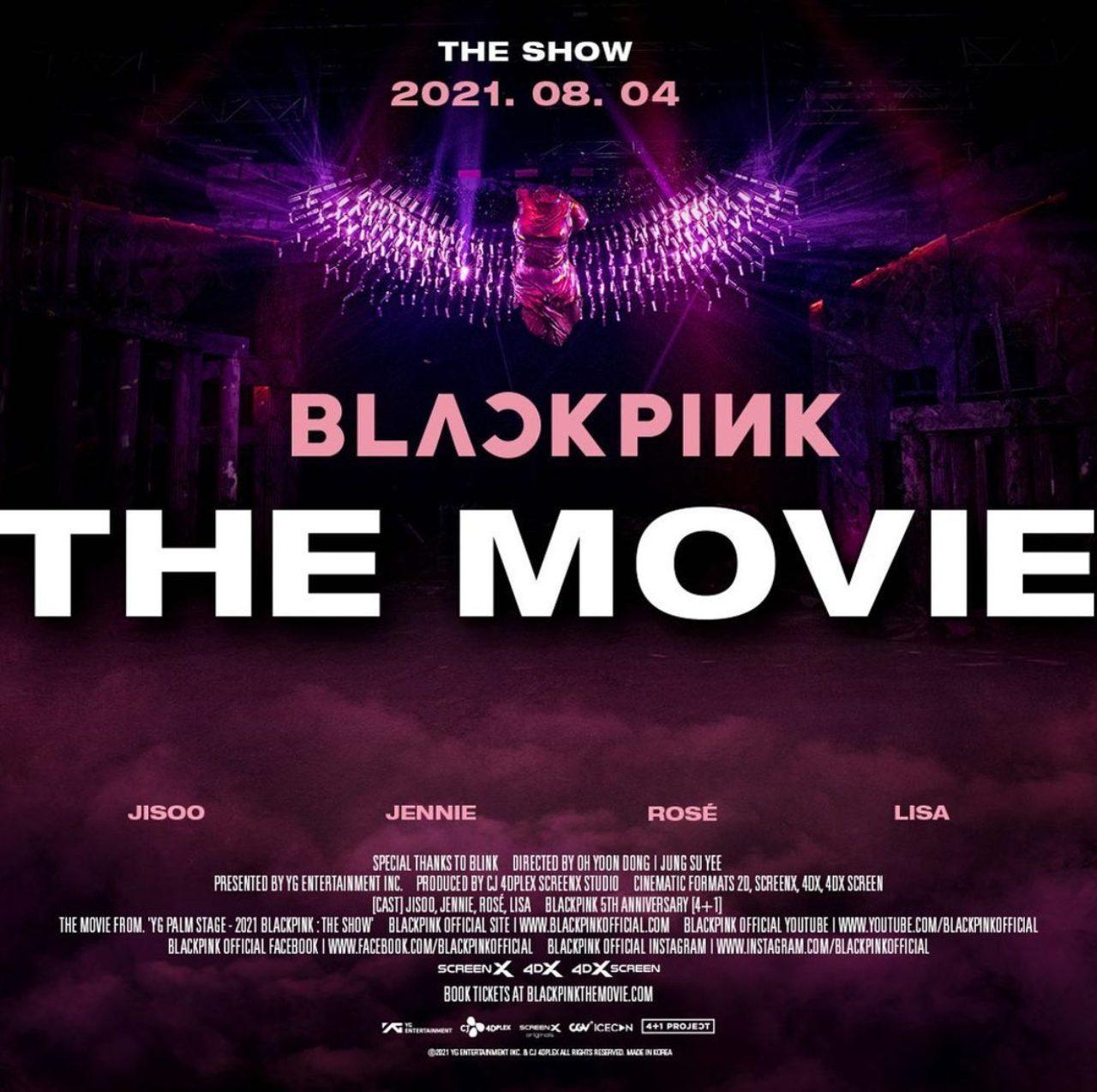 BLACKPINK The Movie boletos ver pelicula