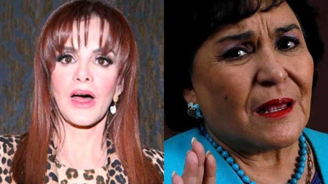 Carmen Salinas se burla de Lucía Méndez por encuentro con Quetzalcoatl