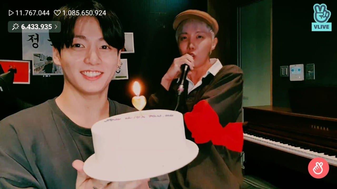 Jungkook cumple 24 anos regalan luna