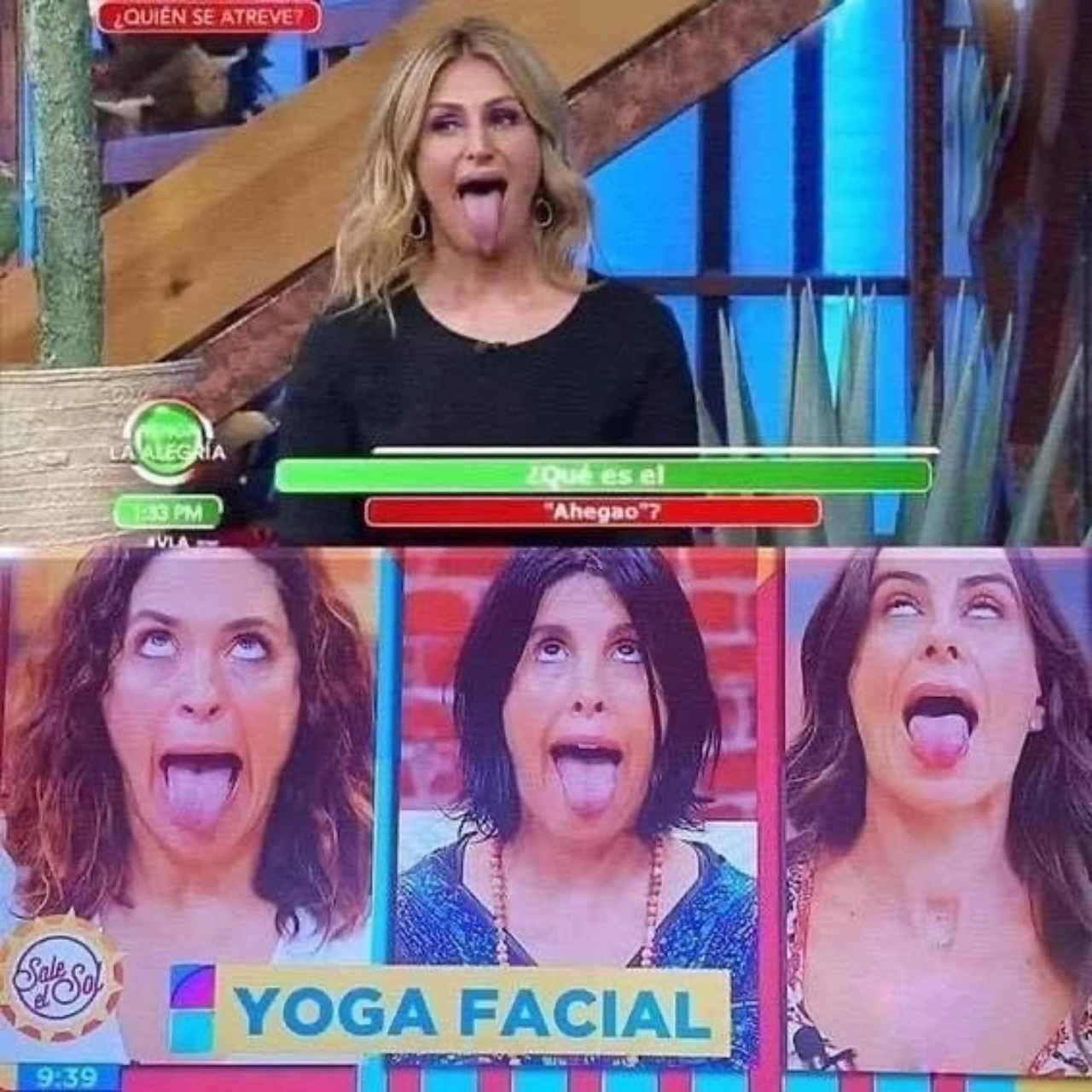 Yoga facial en Sale el Sol