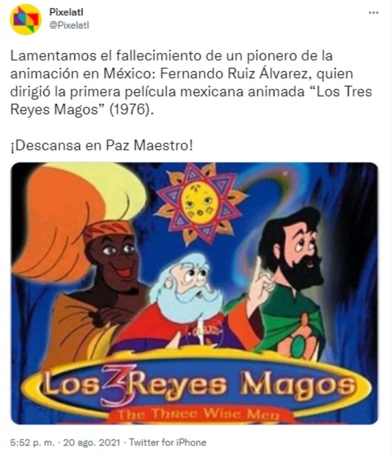 Muere Fernando Ruiz tres reyes magos