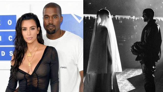 Kim Kardashian boda nueva Kanye West