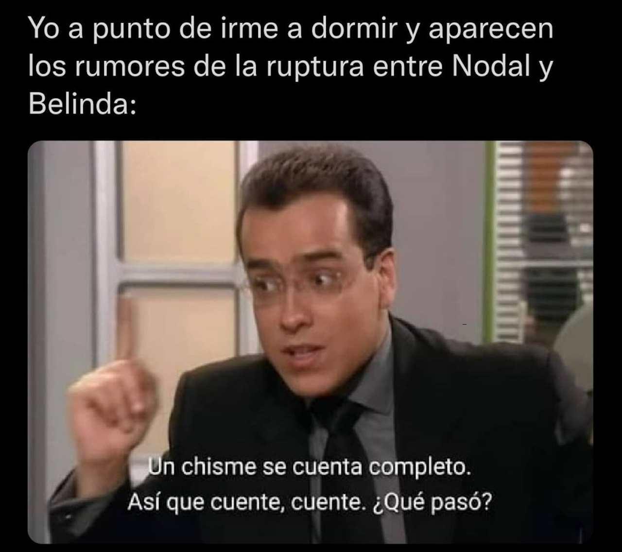 Meme de Belinda y Nodal terminaron con Don Armando