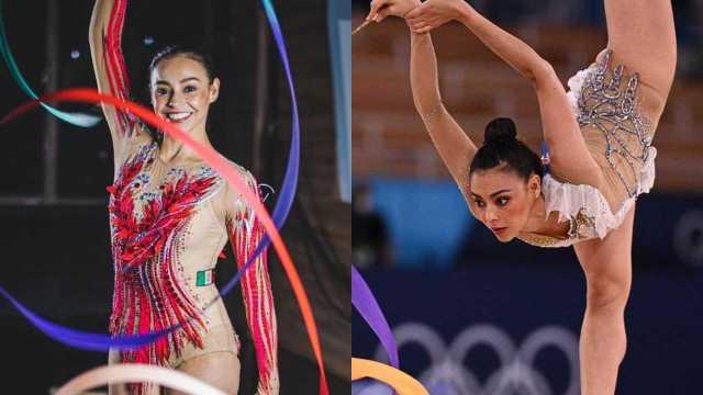 "México deslumbra en gimnasia rítmica con ""El Triste"" en Tokyo 2020"