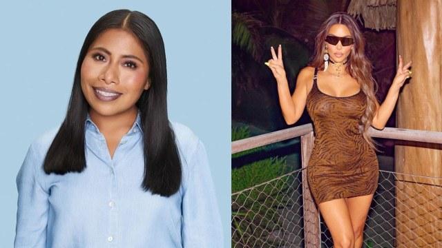Yalitza Aparicio posa mini vestido Kim Kardashian