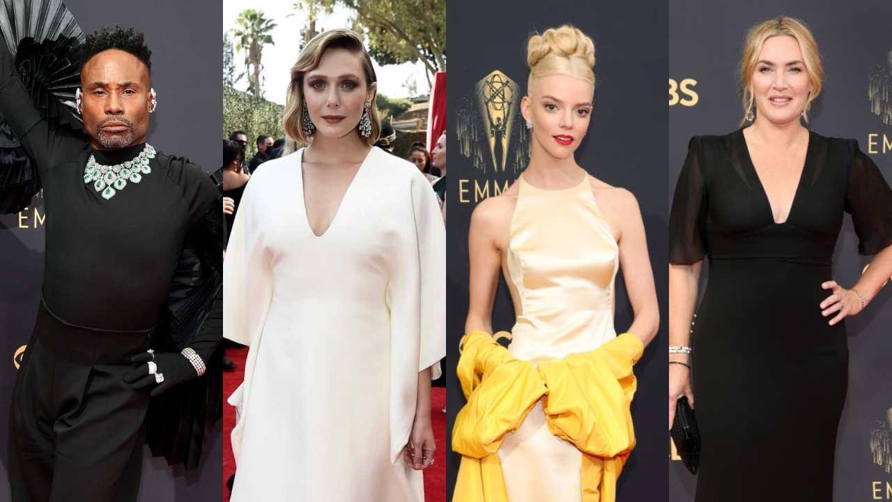 Premios Emmy 2021: Los mejor y peor vestidos de la alfombra roja