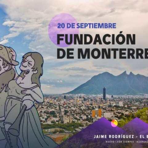 Bronco celebra fundación Monterrey
