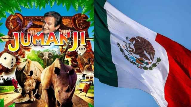 Jumanji himno nacional mexicano