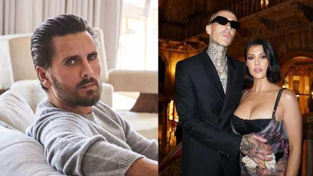 Mensajes Scott Disick insultando Kourtney Kardashian