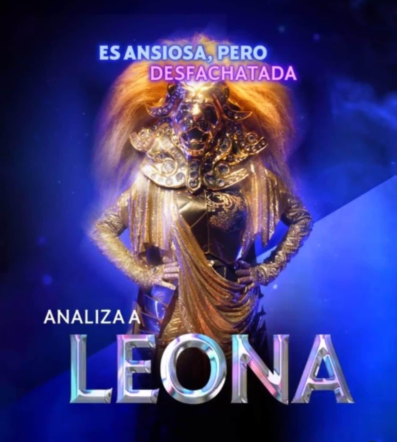 Leona en Quien es la mascara