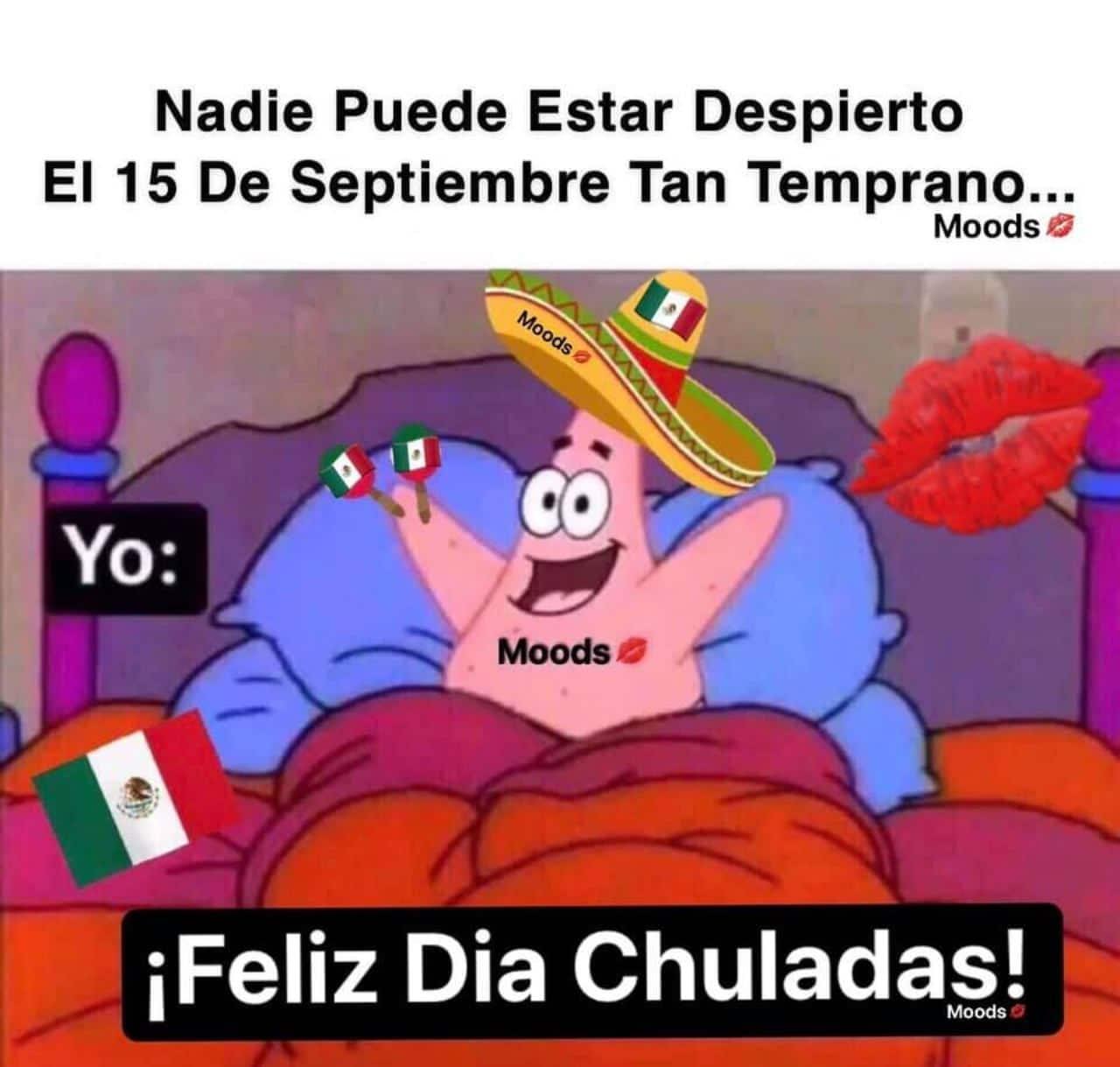 meme 15 septiembre patricio estrella mexicano
