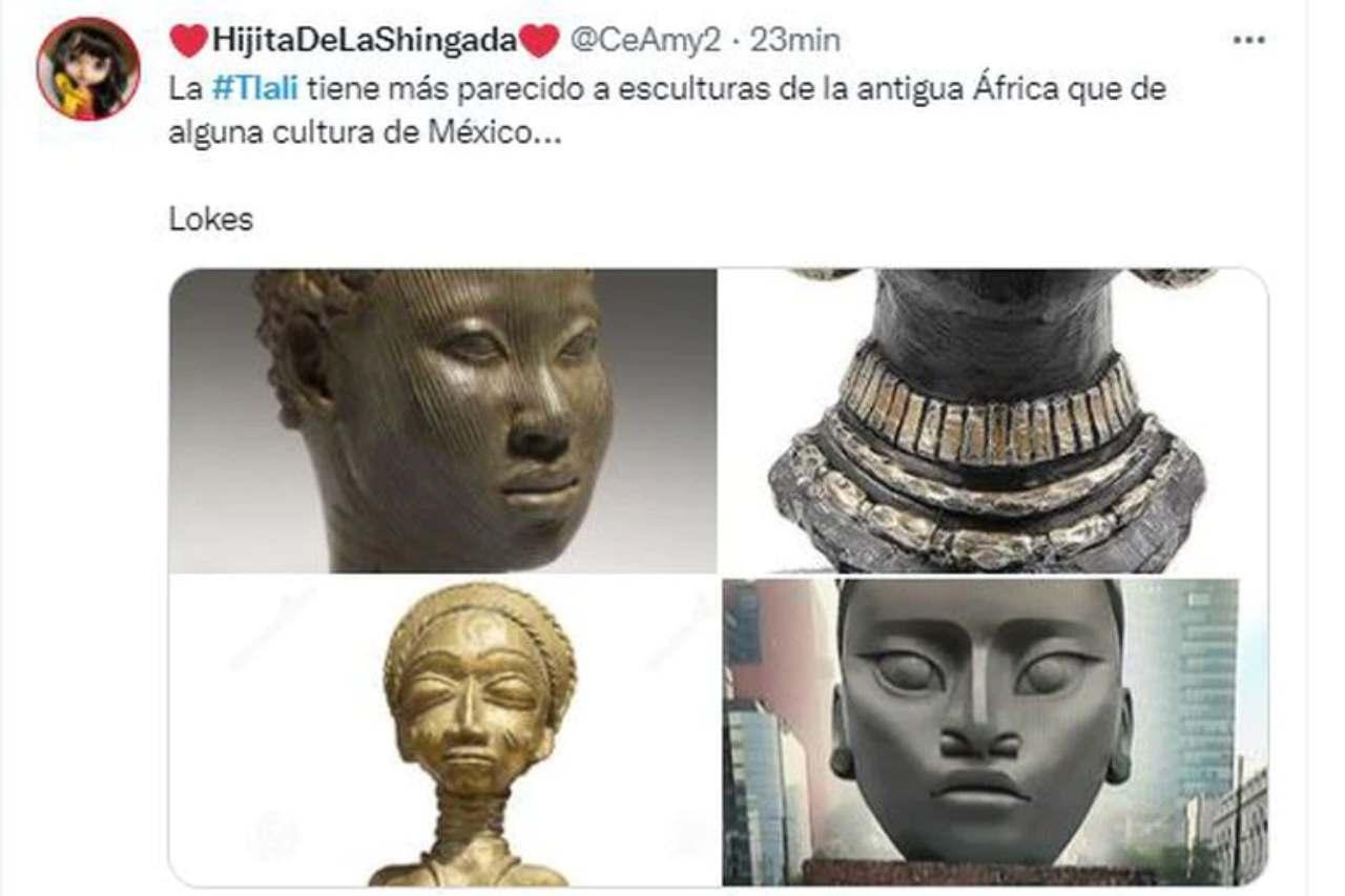 wakanda escultura