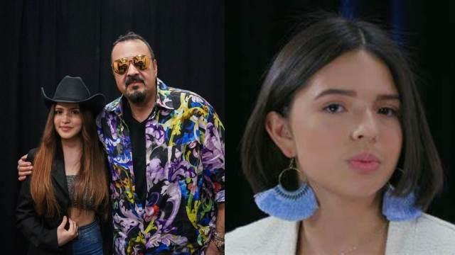 Pepe Aguilar firma competencia Angela Aguilar