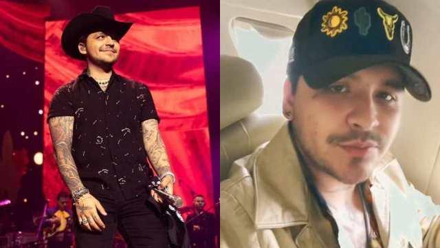 Christian Nodal responde tras ser acusado de ecocidio