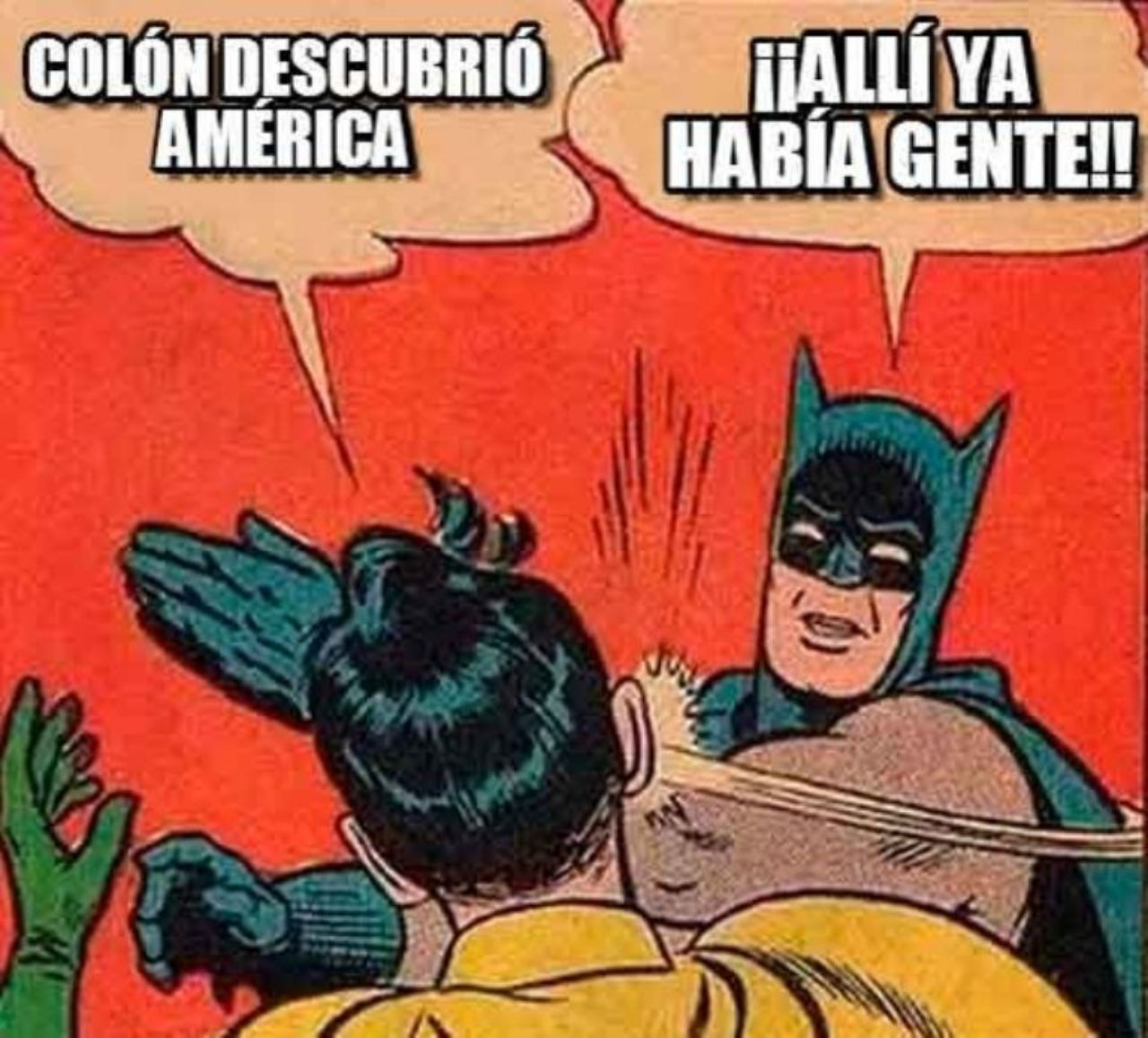 meme cristobal colon descubriendo america gente