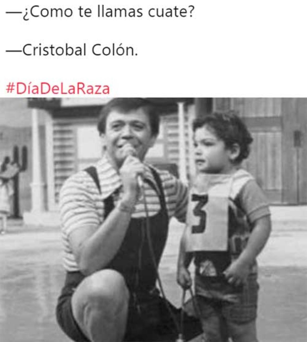 Chabelo Cristobal Colon dia de raza