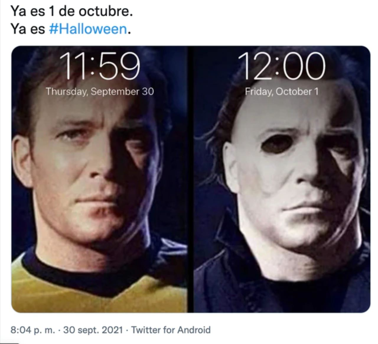 halloween otoño memes michael myers