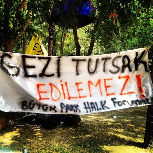 Occupy_Gezü_Büyükpark_İsgali