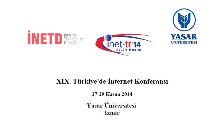 inet tr 14 Türkiye de İnternet Konferansi