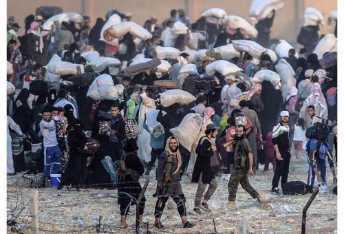 ISIL akçakale border