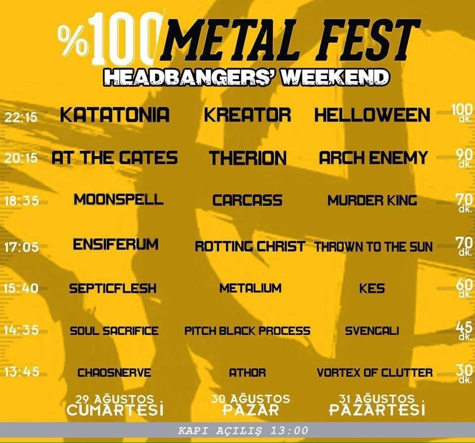 metal fest istanbul