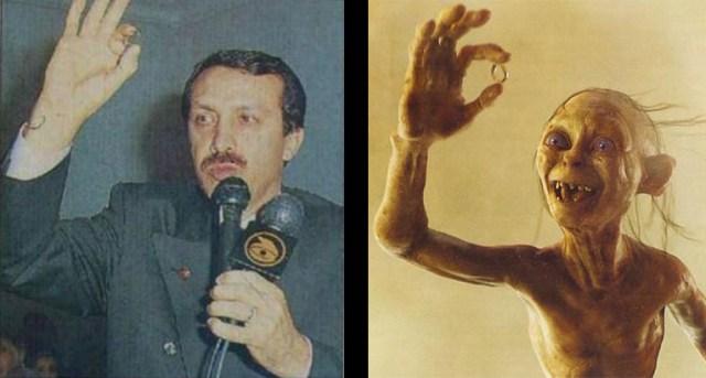 erdoğan and gollum
