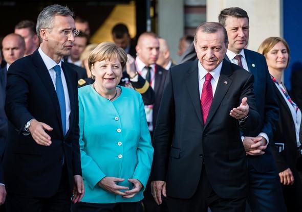 erdogan nato merkel