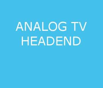 Analog Tv Headend