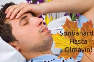 sonbaharda grip nezle olmamak