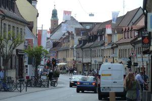 Frankenfahnen in Erlangen