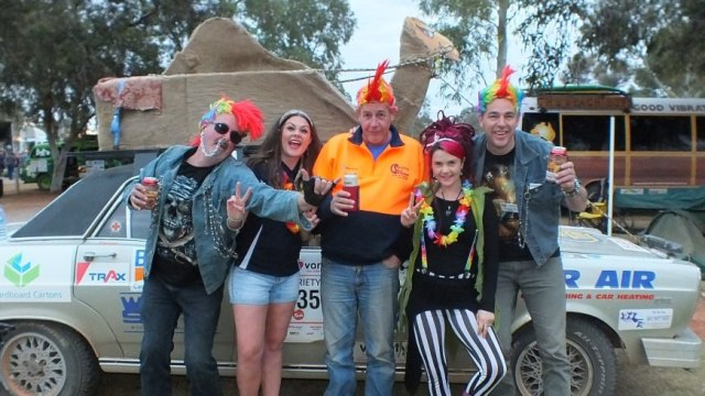 Group of punks from Variety Bash
