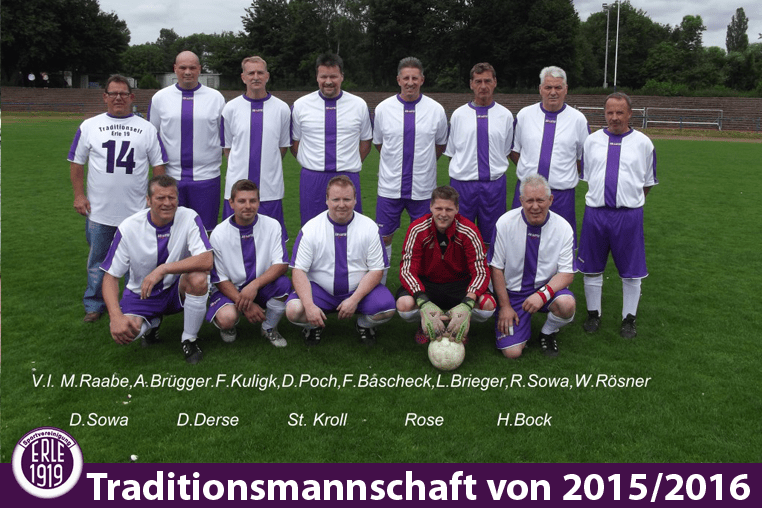 Traditionsmannschaft 2015/2016