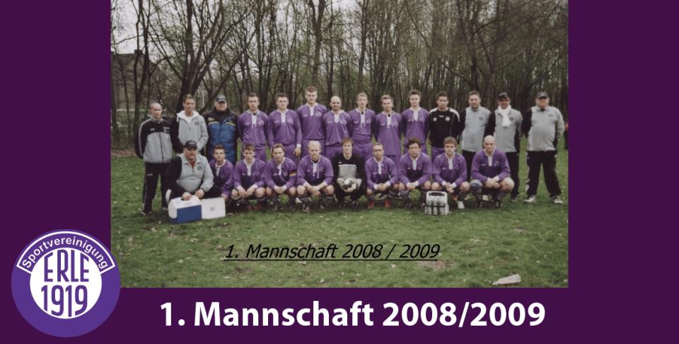 1 Mannschaft 2008/2009