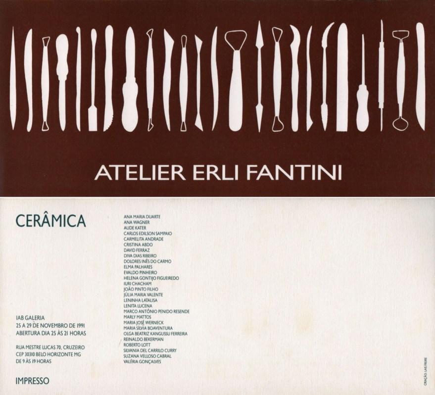 Cerâmica Atelier Erli Fantini