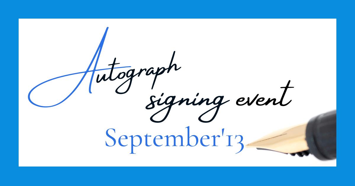サイン会2013年9月