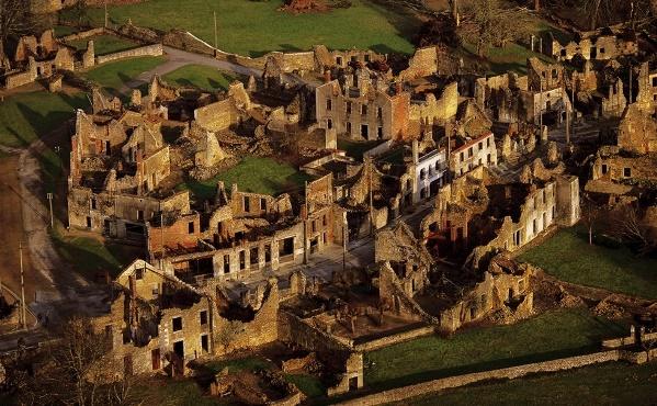 Орадур- сюр-Глан - деревня уничтоженная нацистами - Франция